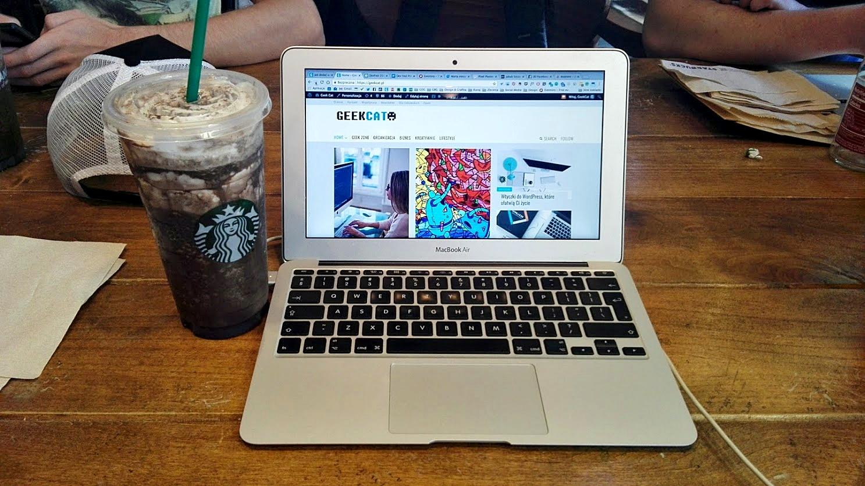 Geek Cat - Starbucks coffee dolina krzemowa mountain view