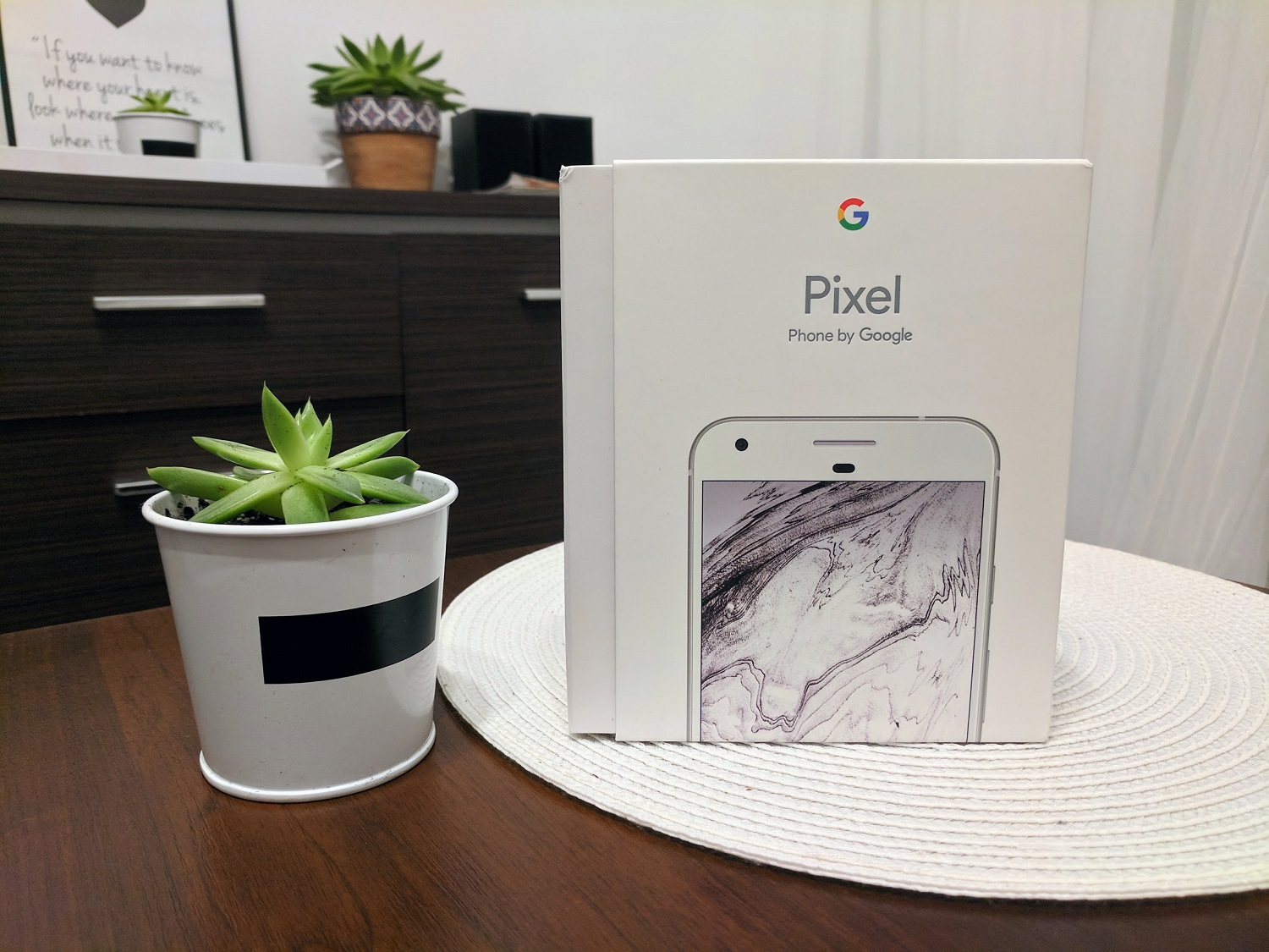 Geek Cat - Google Pixel recenzja - unboxing