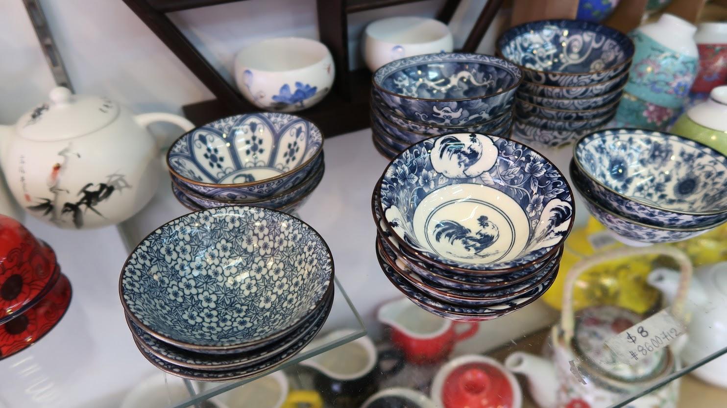 Geek Cat - Singapur - co zwiedzić - Chinatown tradycyjna porcelana