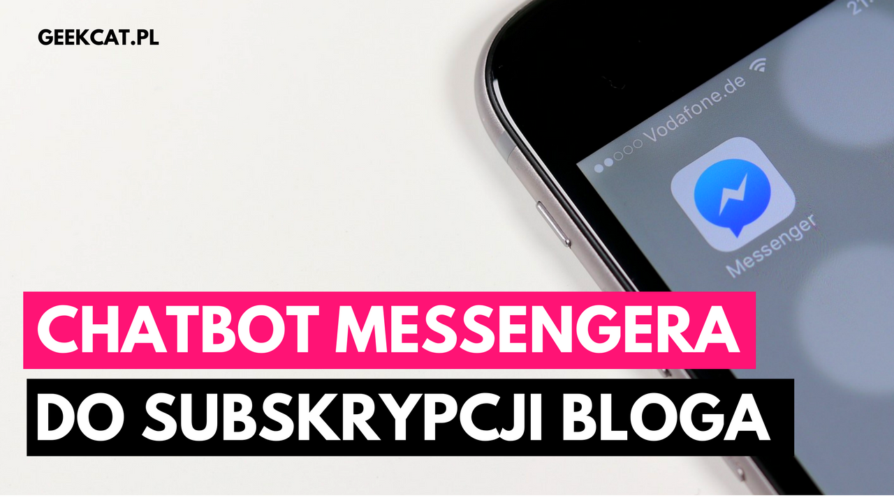 Facebook Messenger bot Geek Cat