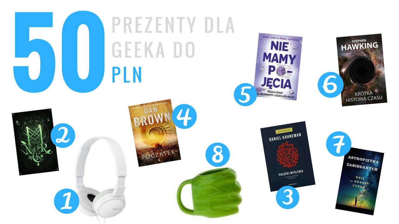 Geek Cat - Pomysły na prezenty dla geeka - do 50 PLN