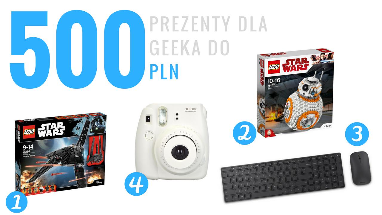 Geek Cat - Pomysły na prezenty dla geeka - do 500 PLN