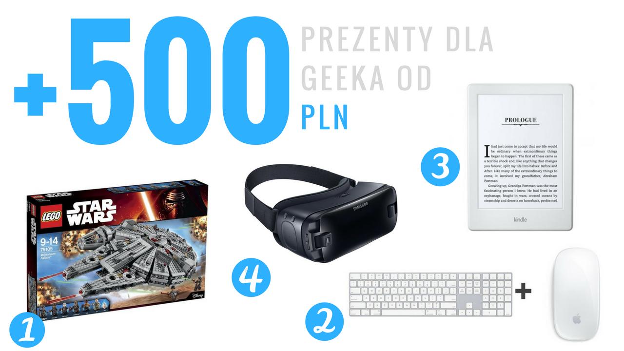 Geek Cat - Pomysły na prezenty dla geeka - powyżej 500 PLN