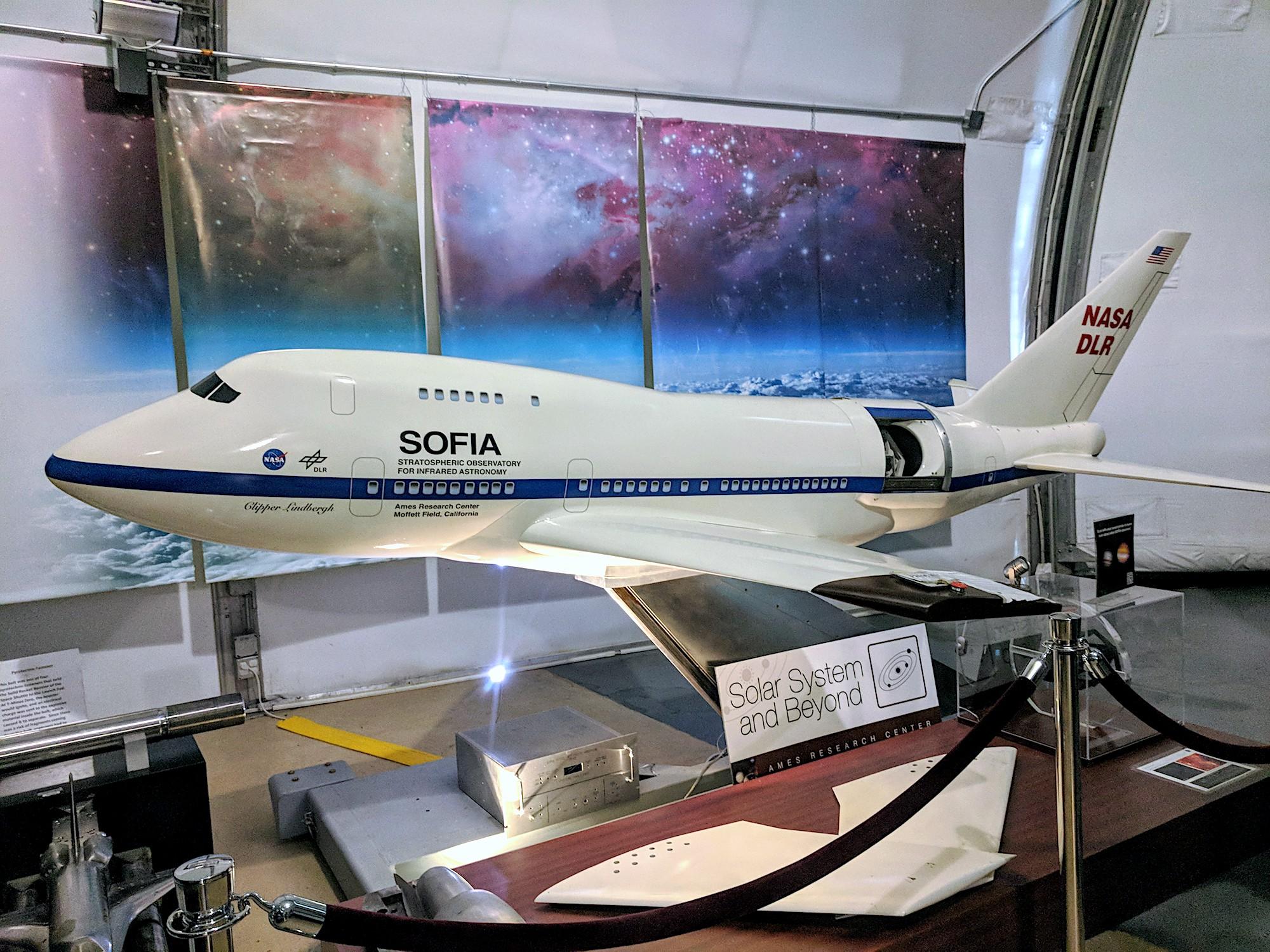 Geek Cat centrum badawcze NASA SOFIA obserwatorium powietrzne