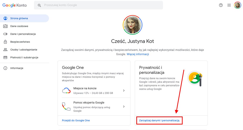 Jak usunąć to co sięwpisało w Google - Geek Cat