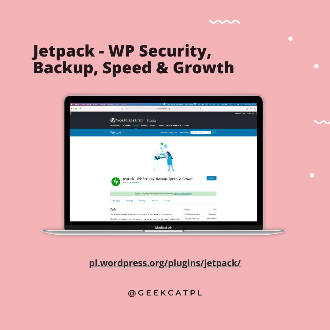 Geek Cat wtyczki wordpress Jetpack