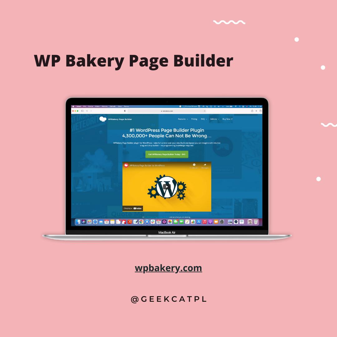 Geek Cat wtyczki wordpress wp bakery builder
